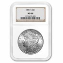 1881-S Morgan Dollar MS-66 NGC