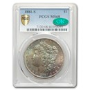 1881-S Morgan Dollar MS-68 PCGS CAC