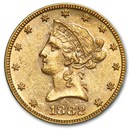 1882 $10 Liberty Gold Eagle AU