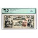 1882 Brown Back $100 Danville, IL VF-20 PCGS (CH# 4731)