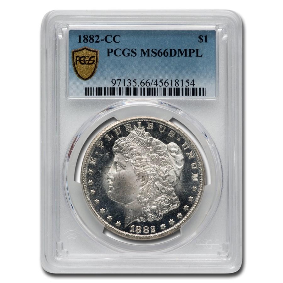 1882-CC Morgan Dollar DMPL MS-66 PCGS