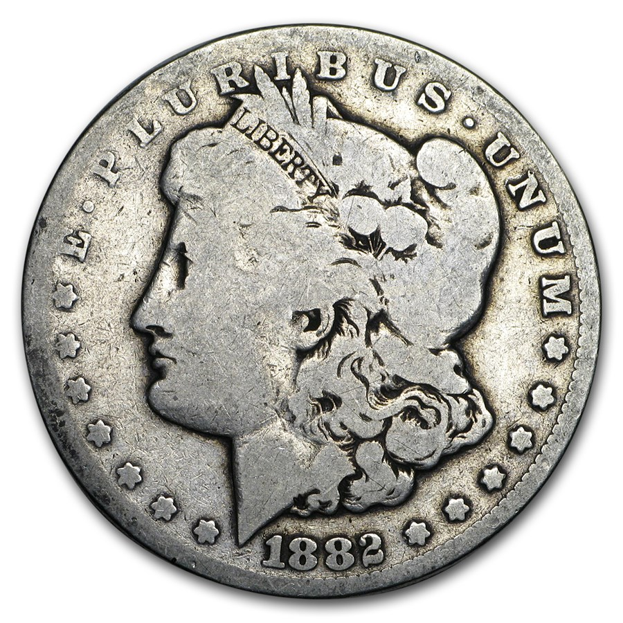 1882-CC Morgan Dollar Good