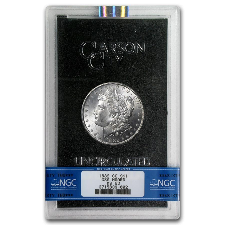 1882-CC Morgan Dollar MS-63 NGC (GSA)
