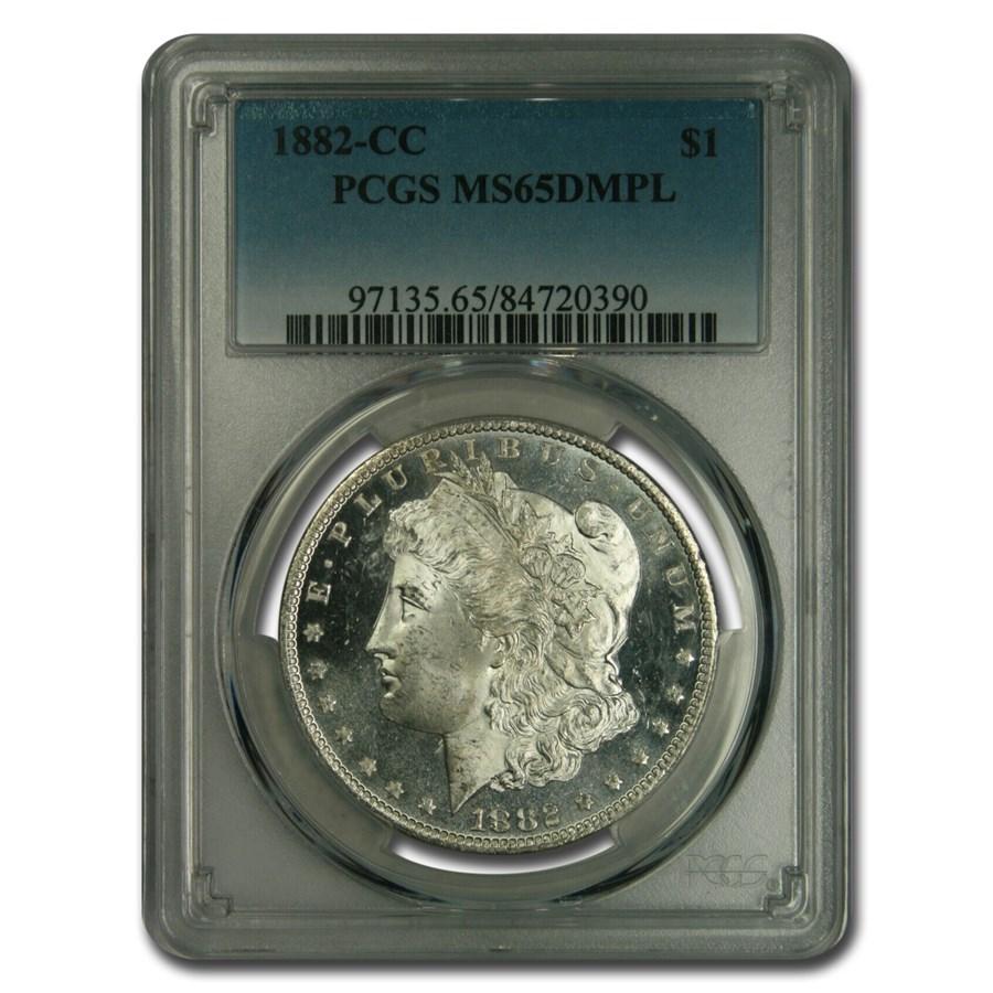 1882-CC Morgan Dollar MS-65 DMPL PCGS