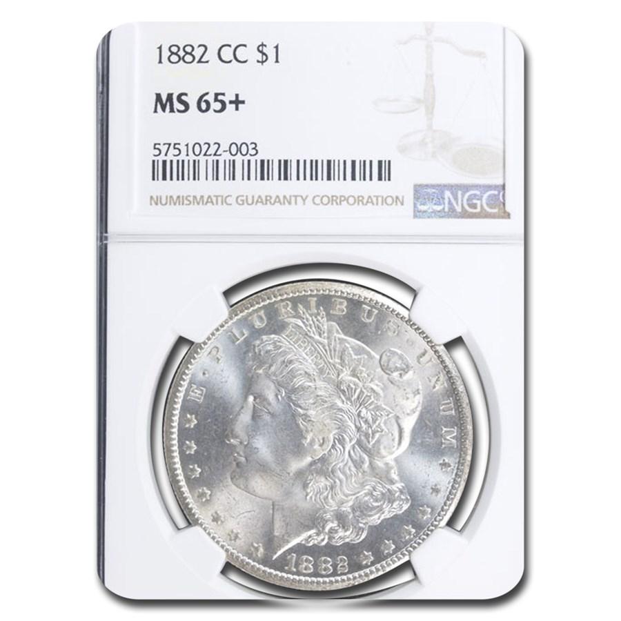 1882-CC Morgan Dollar MS-65+ NGC