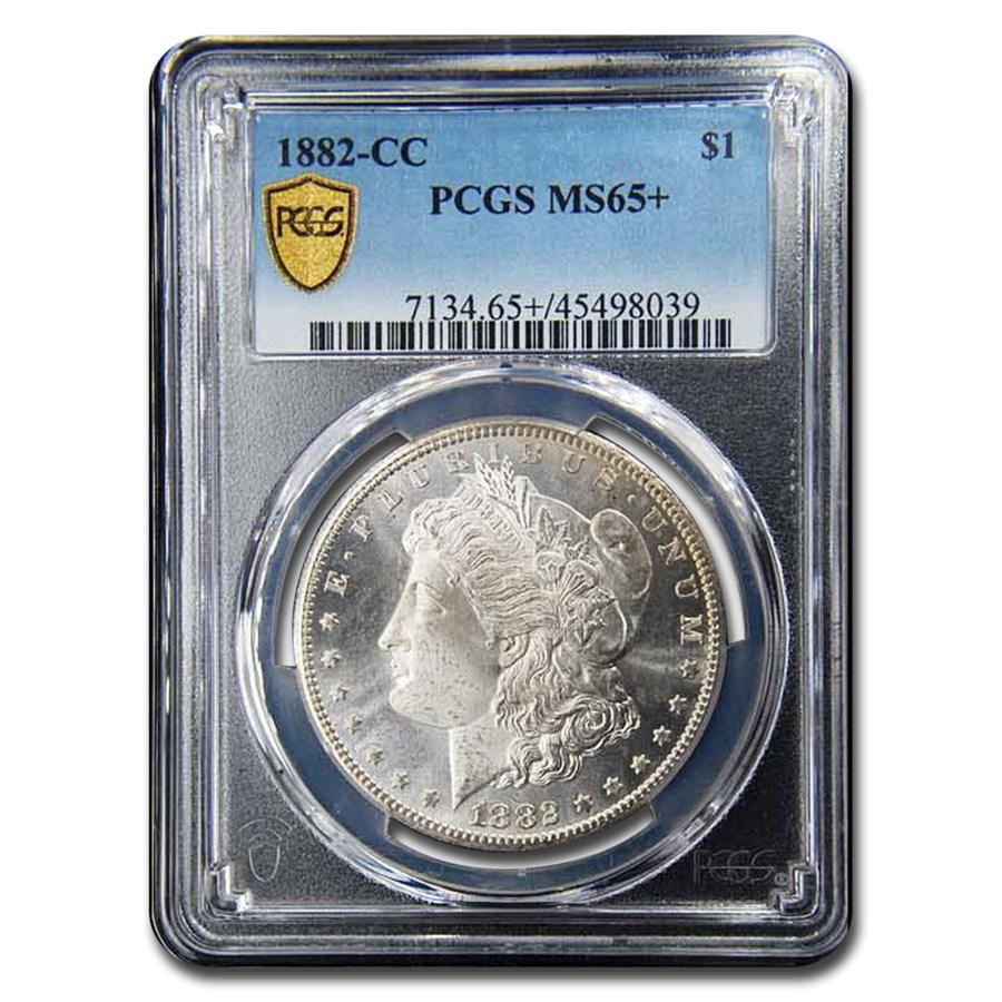 1882-CC Morgan Dollar MS-65+ PCGS