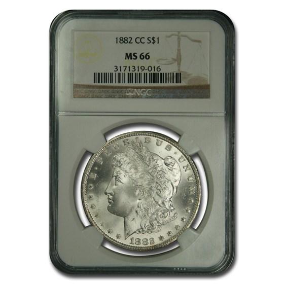1882-CC Morgan Dollar MS-66 NGC