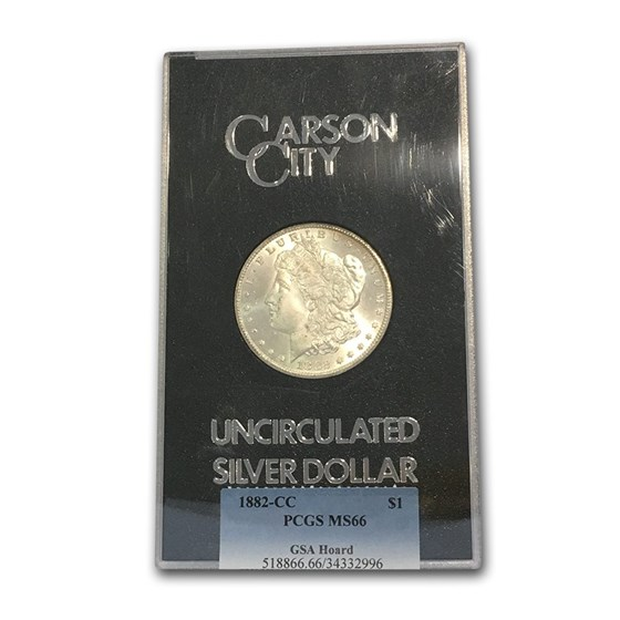 1882-CC Morgan Dollar MS-66 PCGS (GSA)