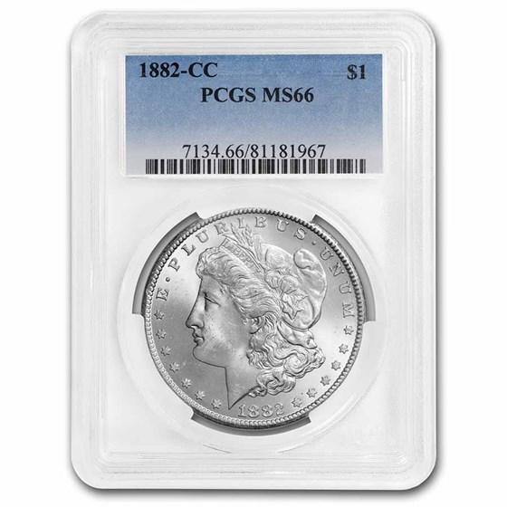 1882-CC Morgan Dollar MS-66 PCGS