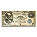 1882 DB Territorial $5.00 Honolulu, HI Fine (Fr#537, Dtls)CH#5550