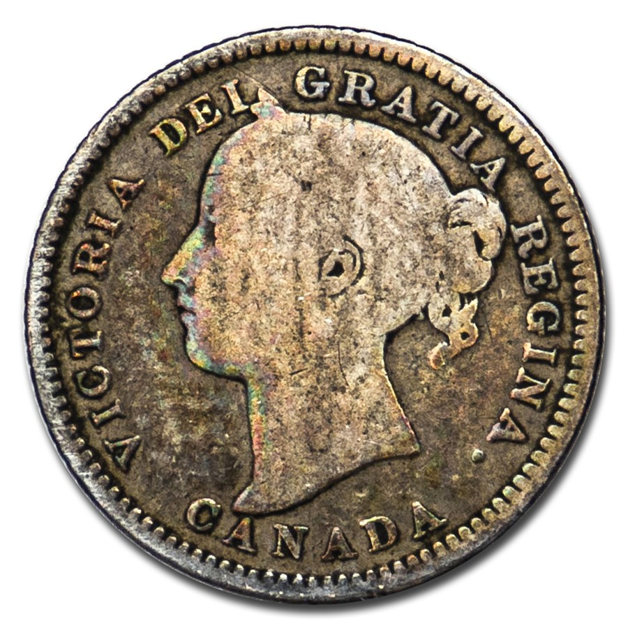 1882-H Canada 10 Cents VG