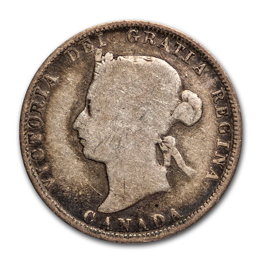 1882-H Canada 25 Cents Good