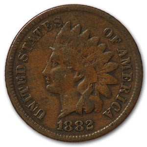 1882 Indian Head Cent Fine