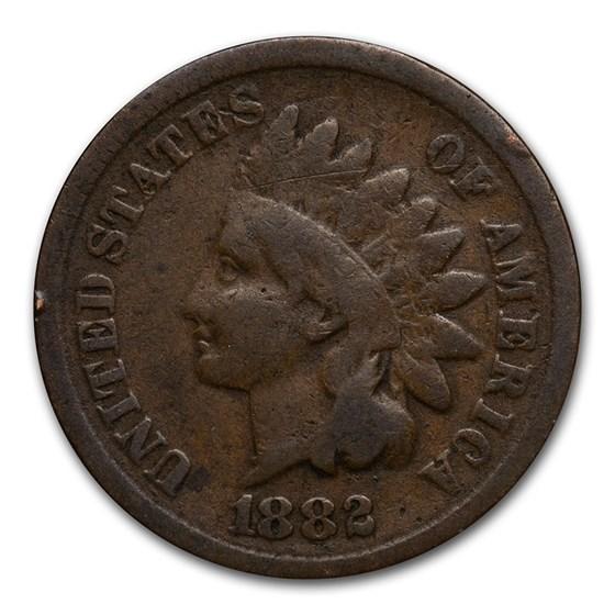 1882 Indian Head Cent Good+