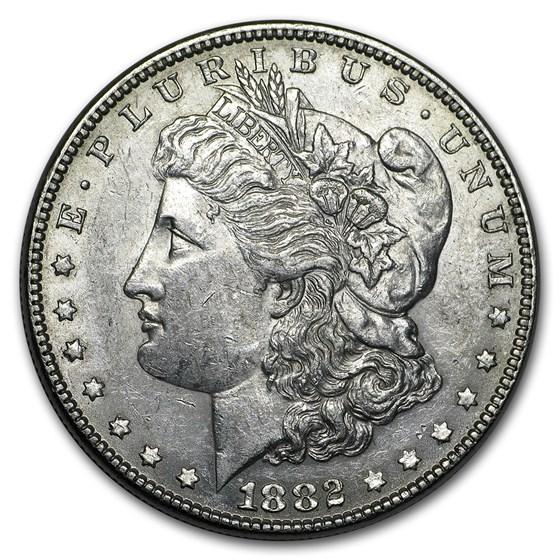 1882 Morgan Dollar AU