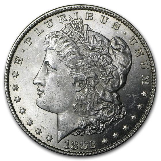 1882 Morgan Dollar BU