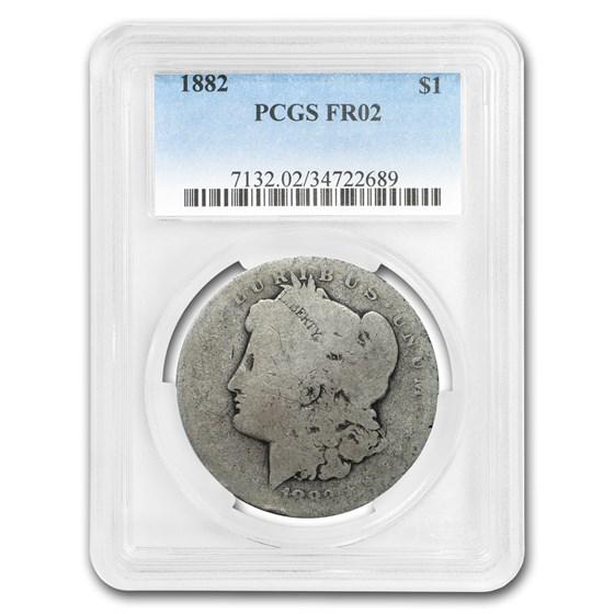1882 Morgan Dollar Fair-2 PCGS (Low Ball Registry)