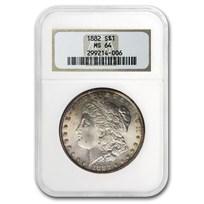 1882 Morgan Dollar MS-64 NGC (Old Gen Holder)