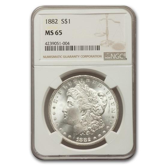 1882 Morgan Dollar MS-65 NGC