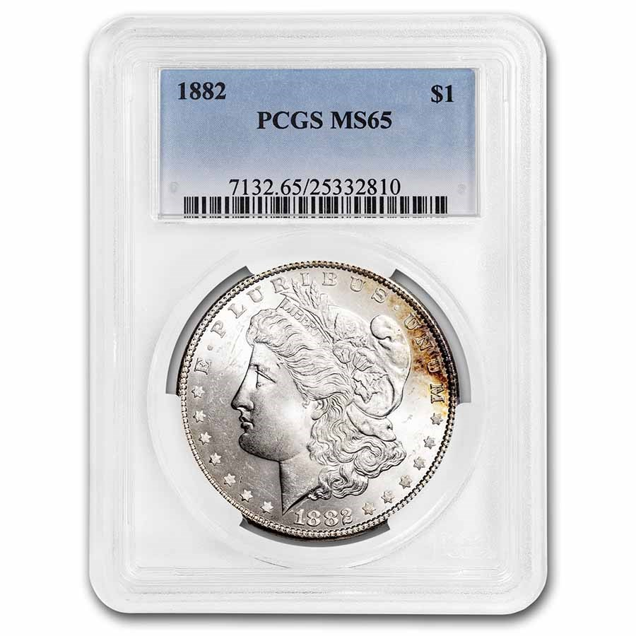 1882 Morgan Dollar MS-65 PCGS