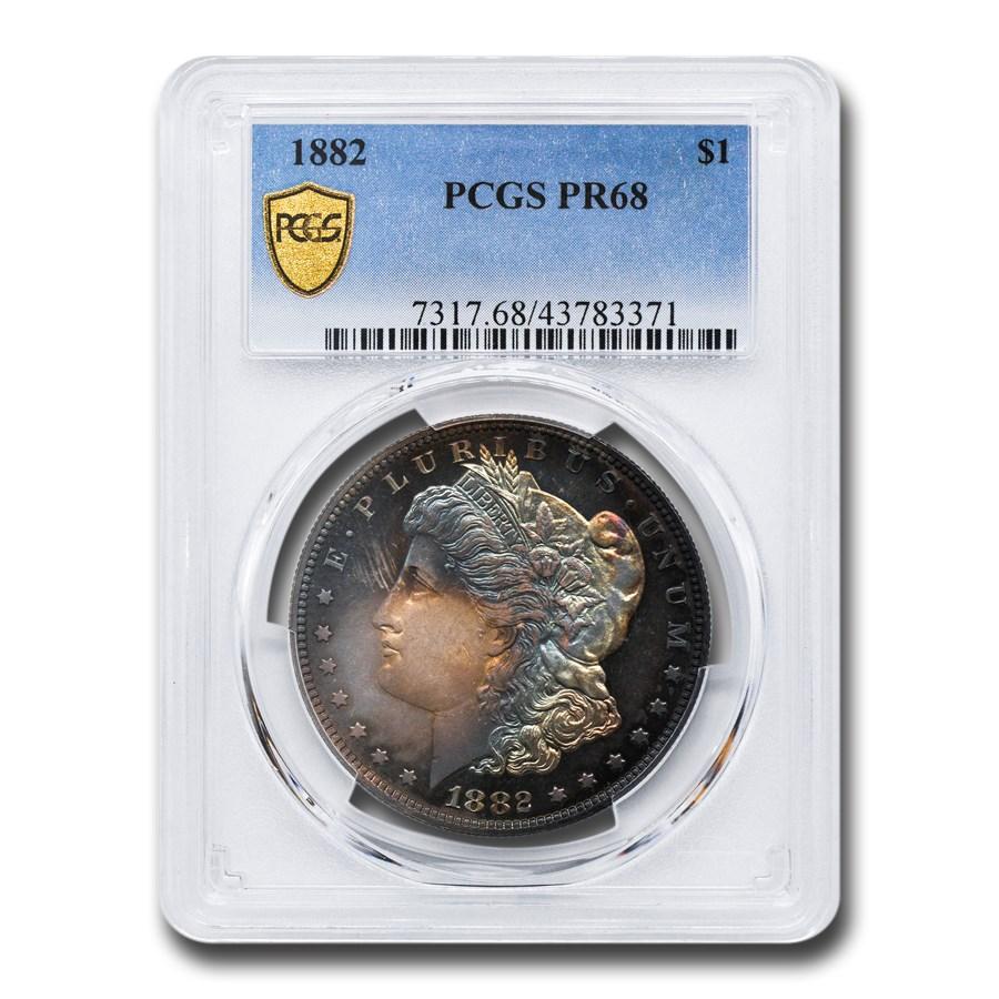 1882 Morgan Dollar PR-68 PCGS