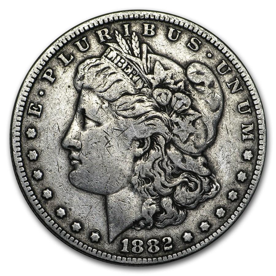 1882 Morgan Dollar VG/VF