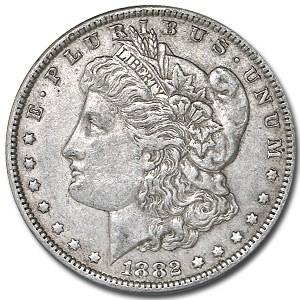 1882 Morgan Dollar XF