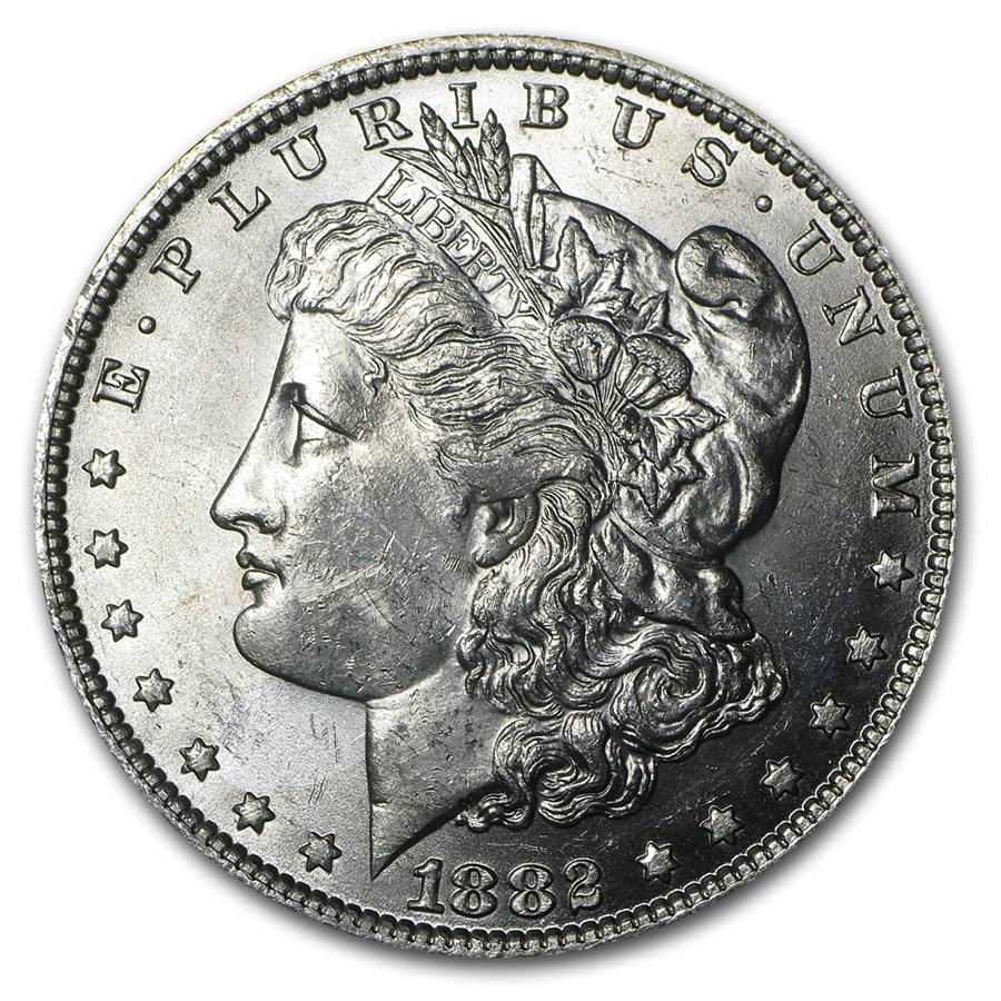 1882-O Morgan Dollar BU