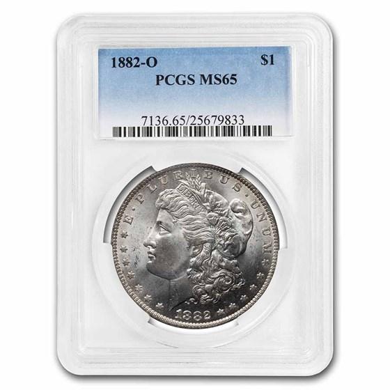 1882-O Morgan Dollar MS-65 PCGS