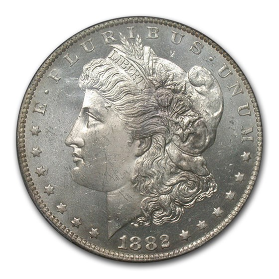 1882-O Morgan Dollar PL MS-64 PCGS