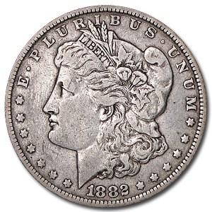 1882-O Morgan Dollar XF