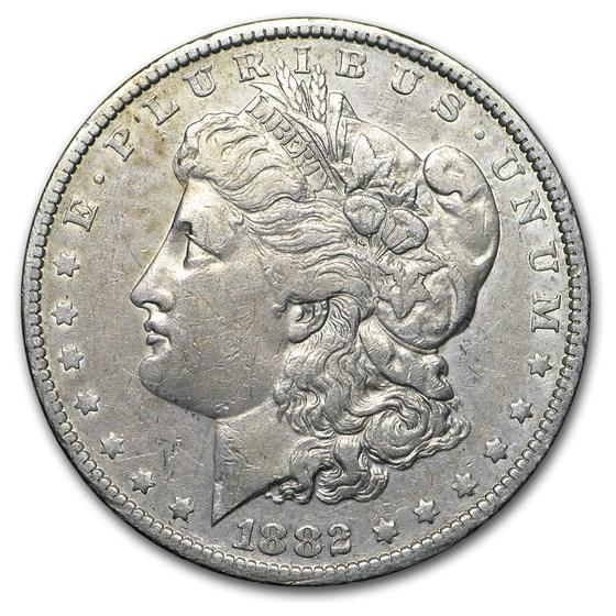 1882-O/S Morgan Dollar VF