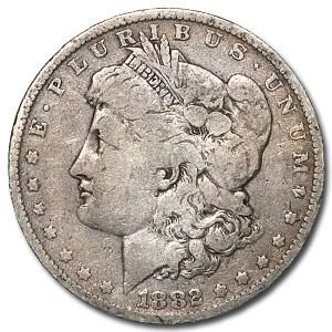 1882-O/S Morgan Dollar VG