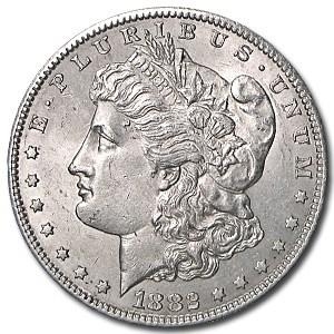1882-S Morgan Dollar AU