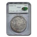 1882-S Morgan Dollar MS-65 PCGS CAC