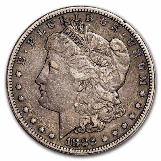 1882-S Morgan Dollar VG/VF