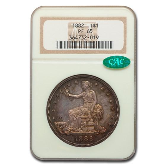 1882 Trade Dollar PF-65 NGC CAC