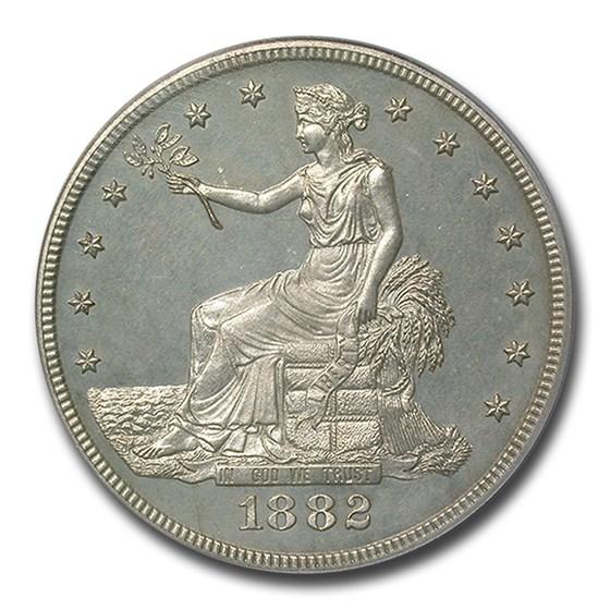 1882 Trade Dollar PR-63 PCGS