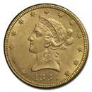 1883 $10 Liberty Gold Eagle AU