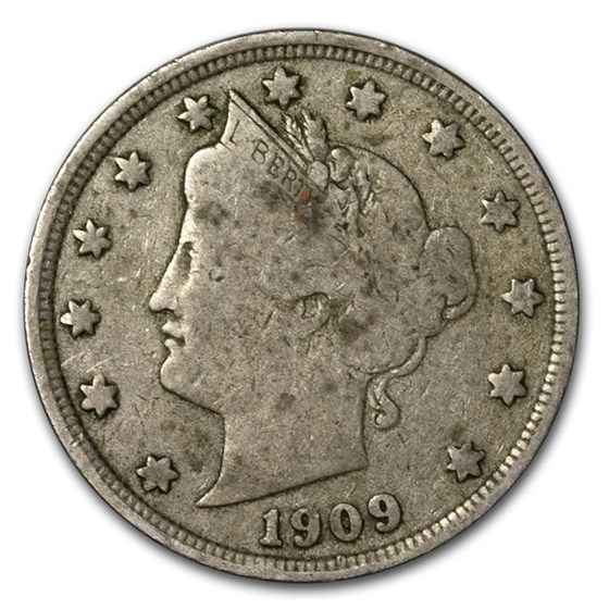 1883-1912 Liberty Head V Nickels VG/Fine