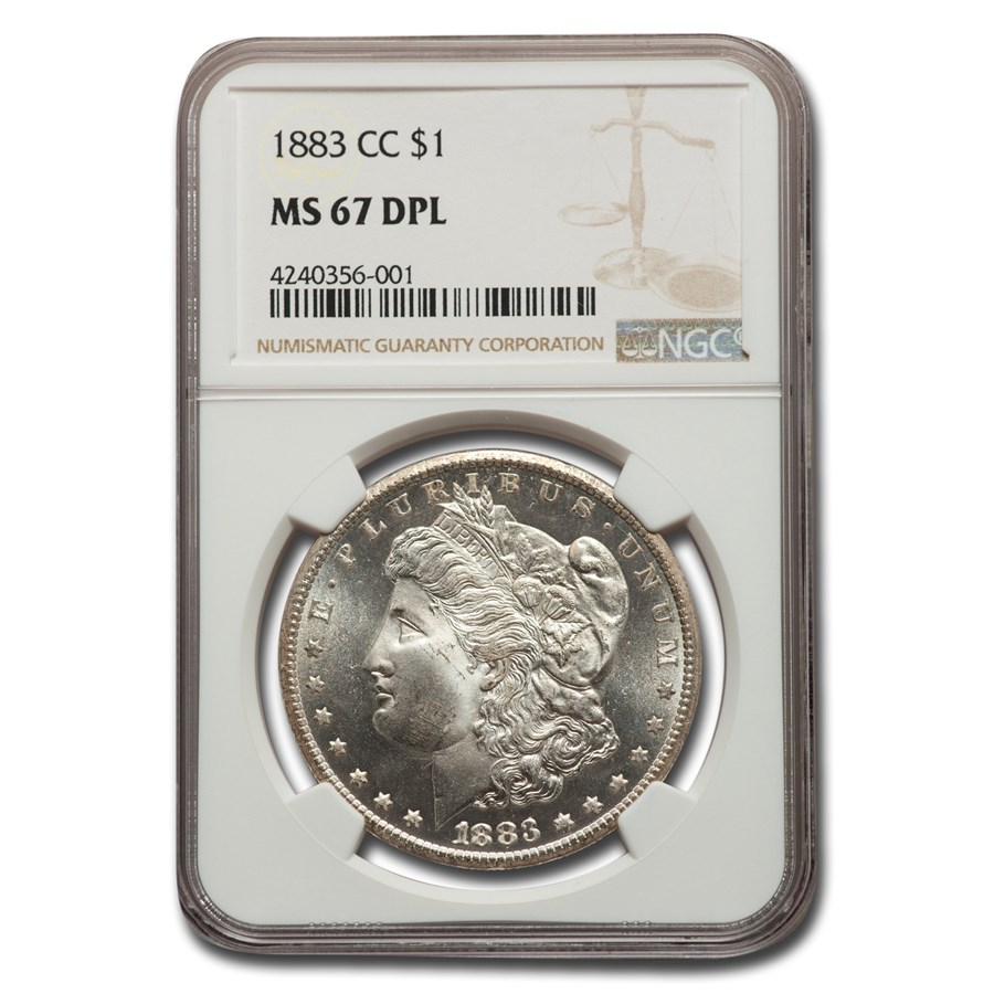 1883-CC Morgan Dollar DPL MS-67 NGC