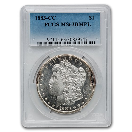 1883-CC Morgan Dollar MS-63 DMPL PCGS