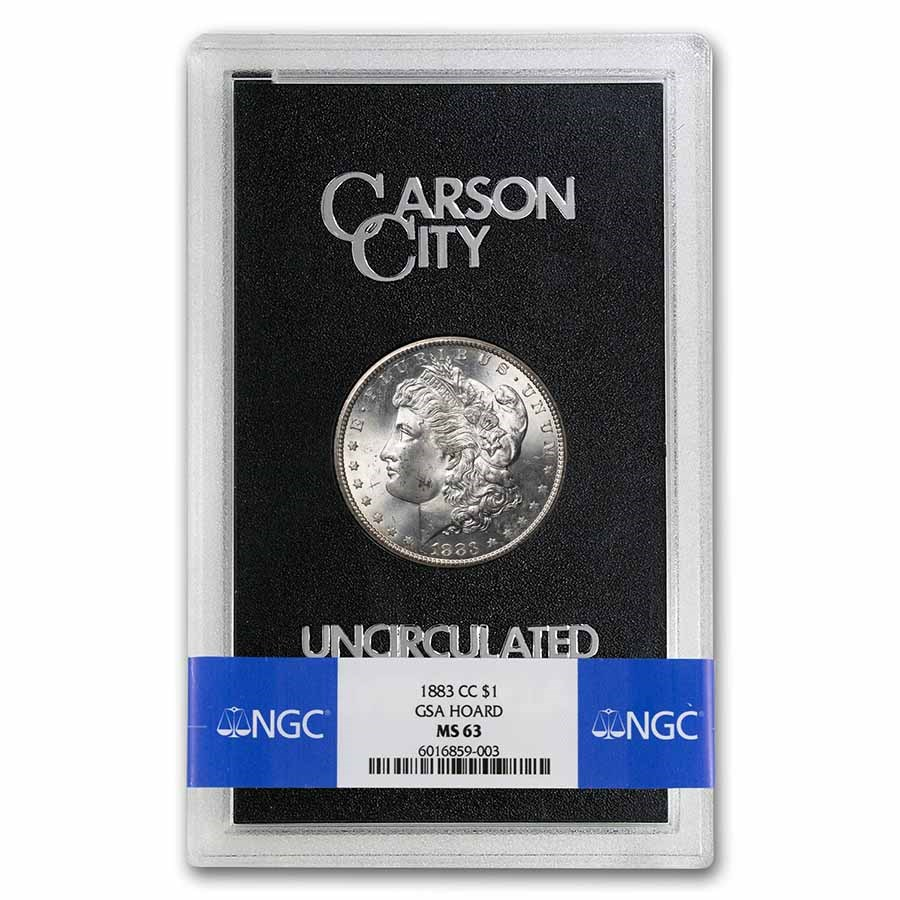 1883-CC Morgan Dollar MS-63 NGC (GSA)