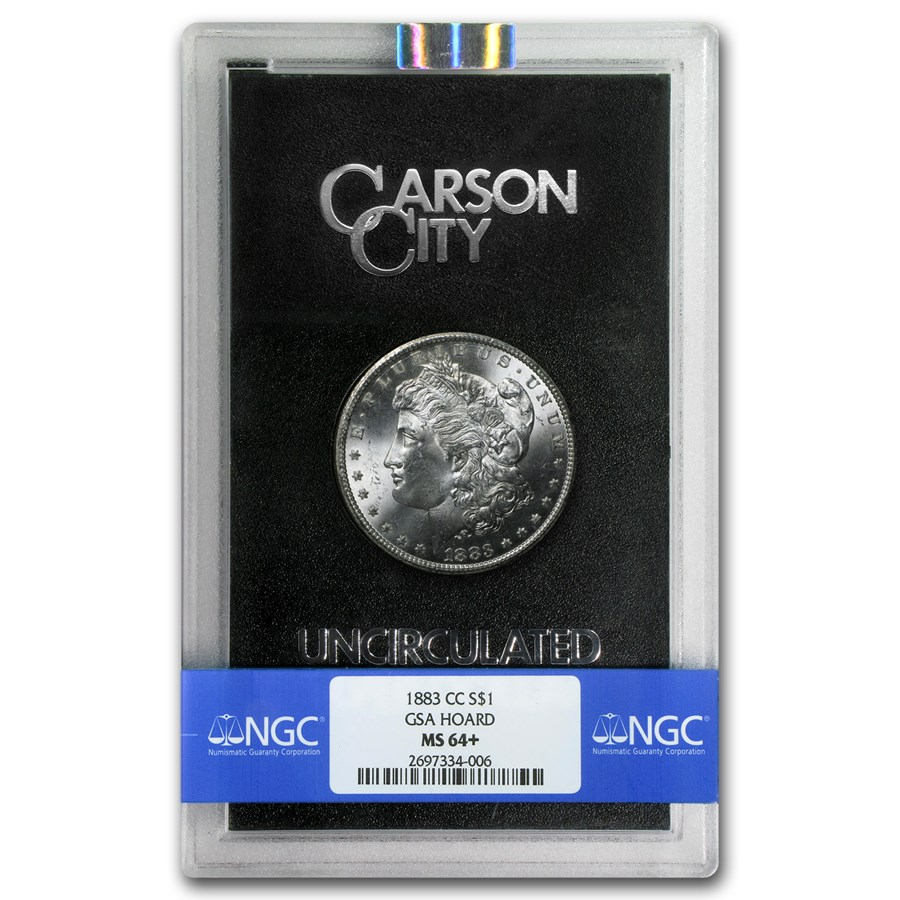 1883-CC Morgan Dollar MS-64+ NGC (GSA)