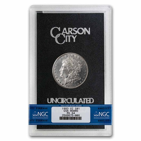 1883-CC Morgan Dollar MS-64 NGC (GSA)