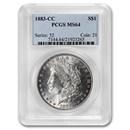 1883-CC Morgan Dollar MS-64 PCGS
