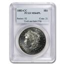 1883-CC Morgan Dollar MS-64 PL PCGS