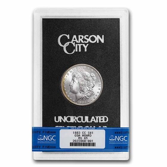 1883-CC Morgan Dollar MS-65 NGC (GSA)
