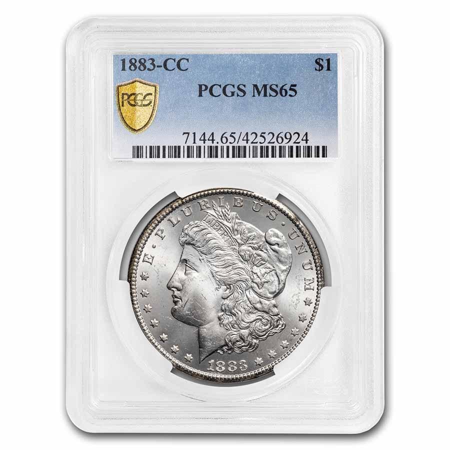 1883-CC Morgan Dollar MS-65 PCGS