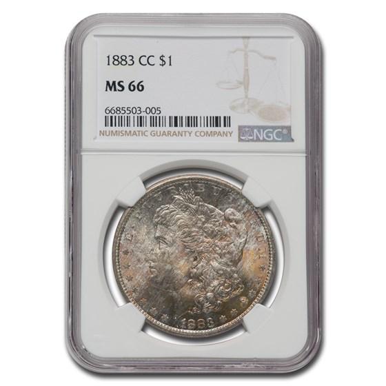 1883-CC Morgan Dollar MS-66 NGC